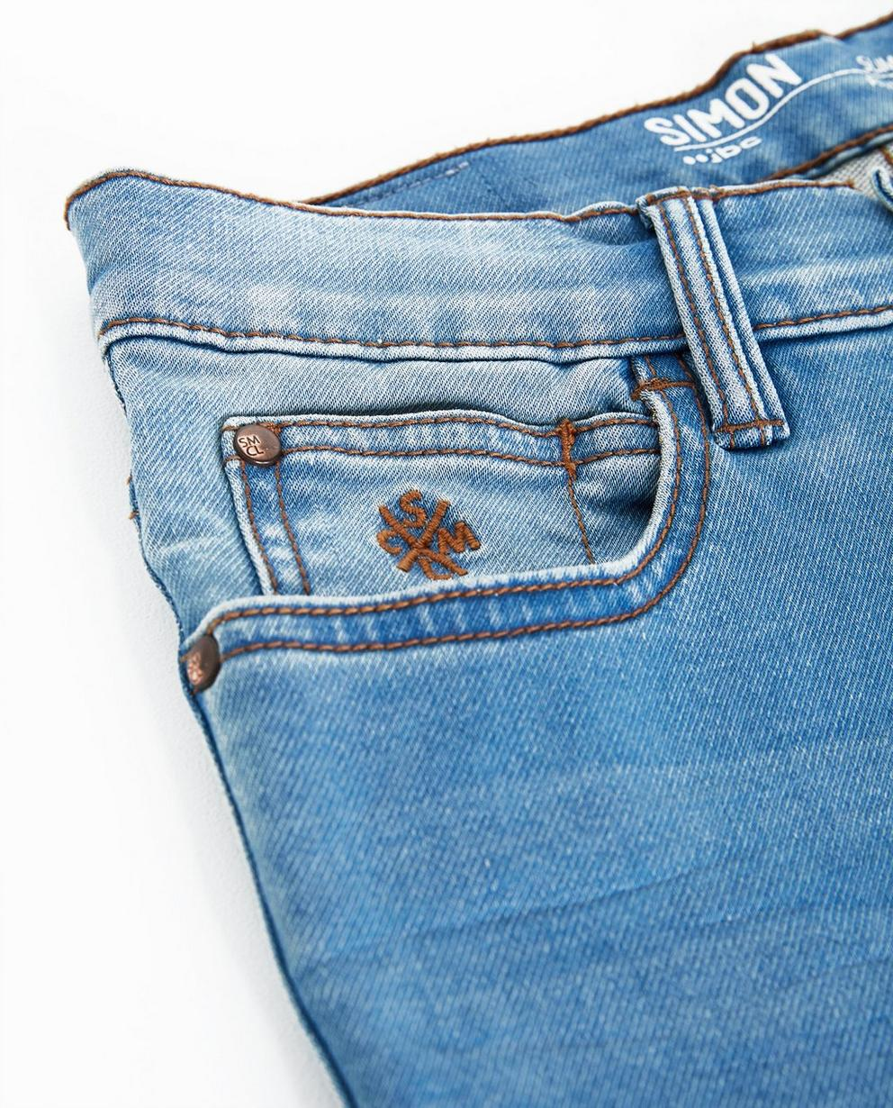 Jeans - light turquise - Jeans slim, 7-14 ans